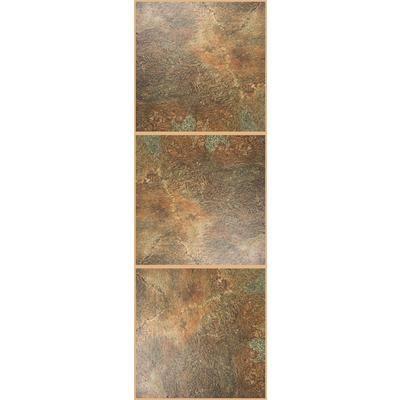 TrafficMaster - TrafficMaster Allure, Chocolate Resilient Vinyl Tile ...