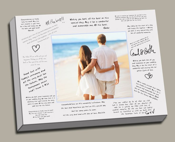 Writing A Wedding Gift Check : Great gift idea for an engagement party or wedding reception. Use a ...