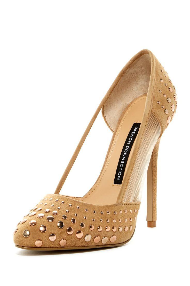 Fashion World: Chocolate high heel shoes