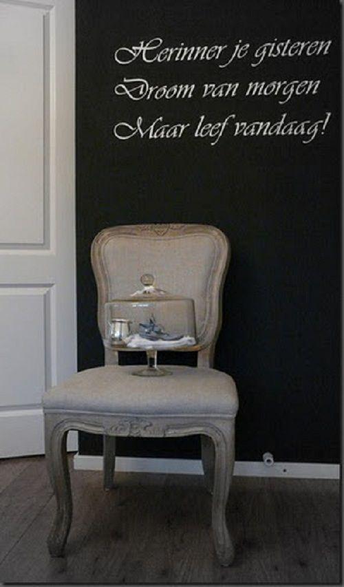 hal 4. mooie tekst op de muur  For my Home Sweet Home  Pinterest
