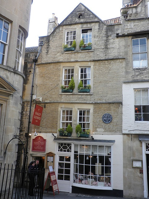 Sally Lunn's, Bath | Tea Time Around the World | Pinterest