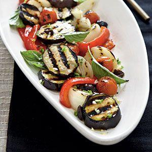 Charred Vegetable Salad   CookingLight.com
