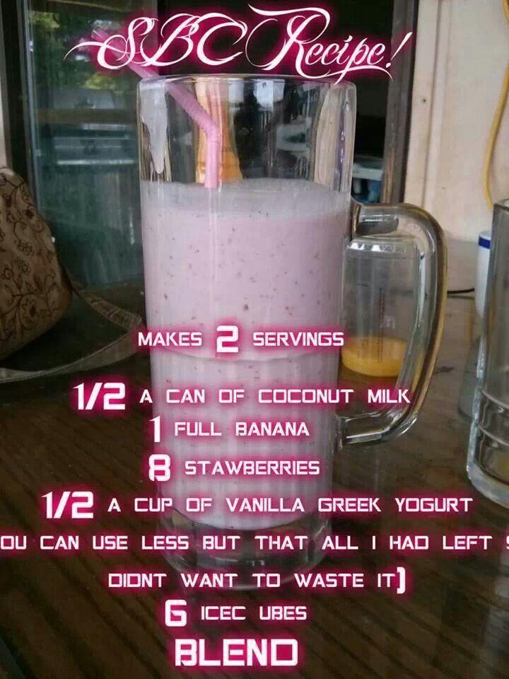 Banana Strawberry Smoothie | Recipe ideas I love | Pinterest