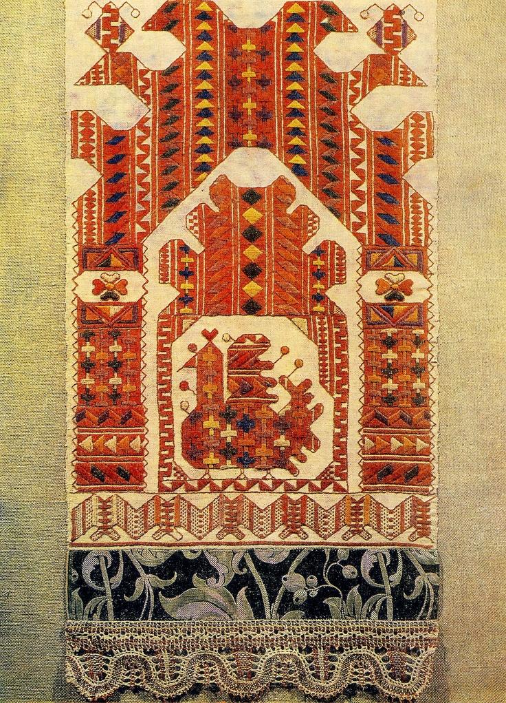 Русская вышивка. История и современность