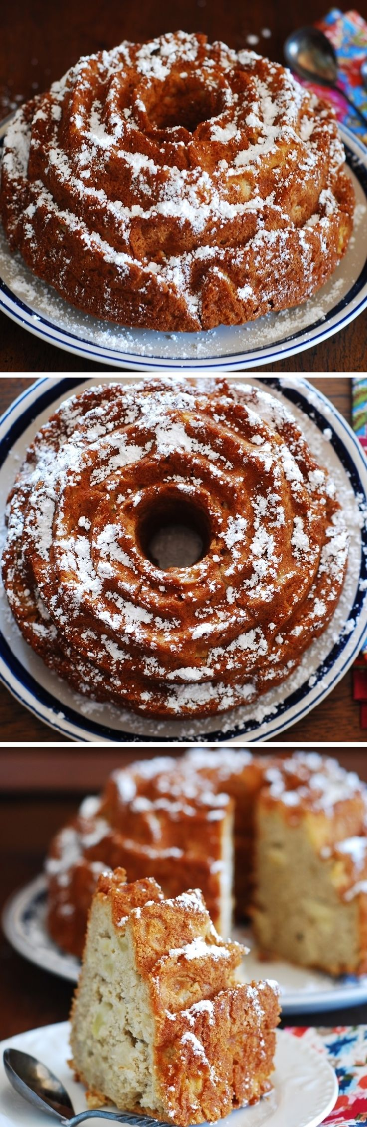 Apple cinnamon buttermilk cake. Perfect coffee cake to have in the ...