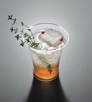 Download image Pink Peppercorn Thyme Na Soda Cocktail Add Gin PC ...