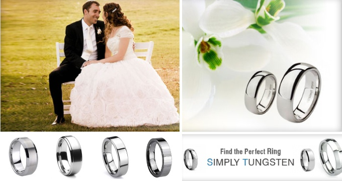 $69.99 | Tungsten Wedding Band and FREE Shipping!