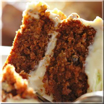 Double Musky Carrot Cake recipe. | desserts | Pinterest