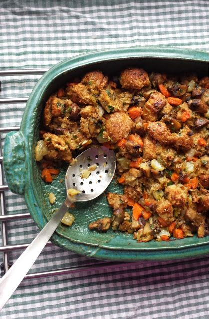 Fennel and Mushroom Stuffing | Main and Side Dishes | Pinterest