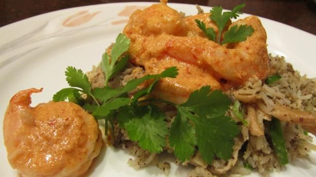 Shrimp With Creamy Orange-Chipotle Sauce | Recipe