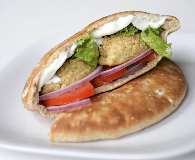 Baked Falafel (not fried!) Really want to try this.