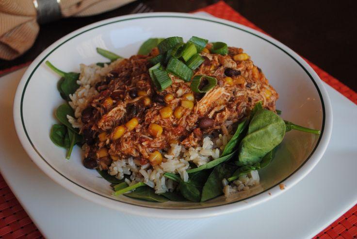 Crockpot Chicken Santa Fe Recipes — Dishmaps