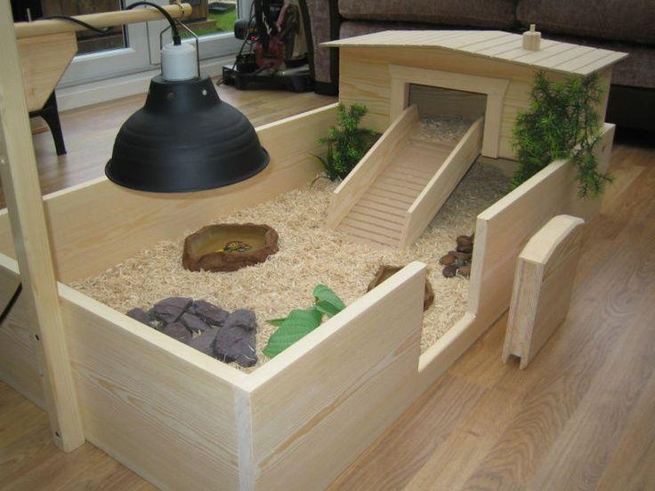 Дом для сухопутной для черепахи своими руками
