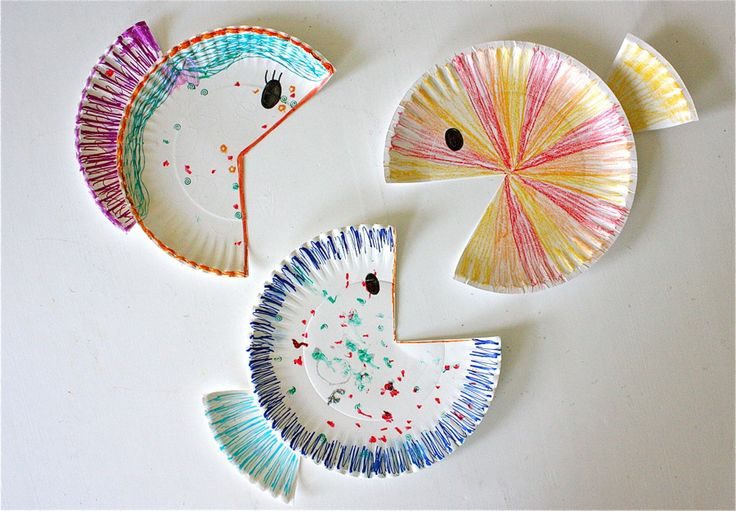 Paper plate fish arts and crafts pinterest for Paper plate fish