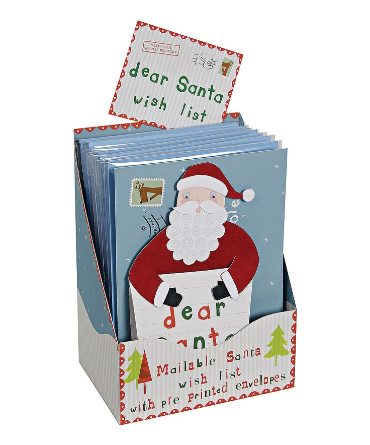 Dear Santa Cards by Meri Meri on #zulily for easy delivery to the North Pole!