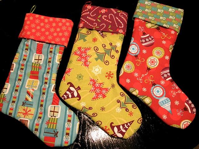 Cute Homemade Stockings Holiday Pinterest