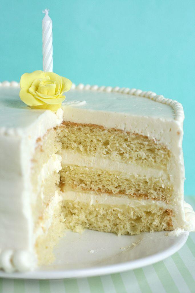 Chiffon Cake With Lemon Icing Recipe — Dishmaps