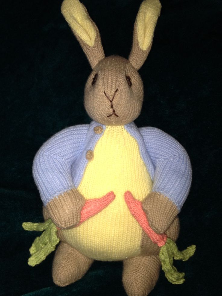 Knitting Pattern Peter Rabbit : Pin by Wanda Tuttle on Peter Rabbit Pinterest