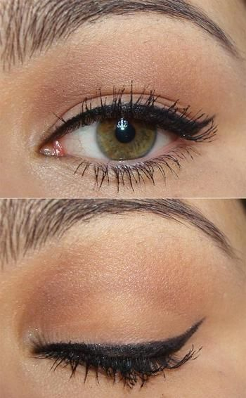 Smokey eye makeup!