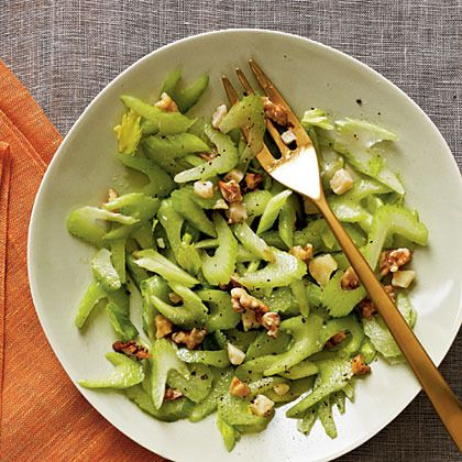 Celery, Walnut, and Parmesan Salad by Cooking Light