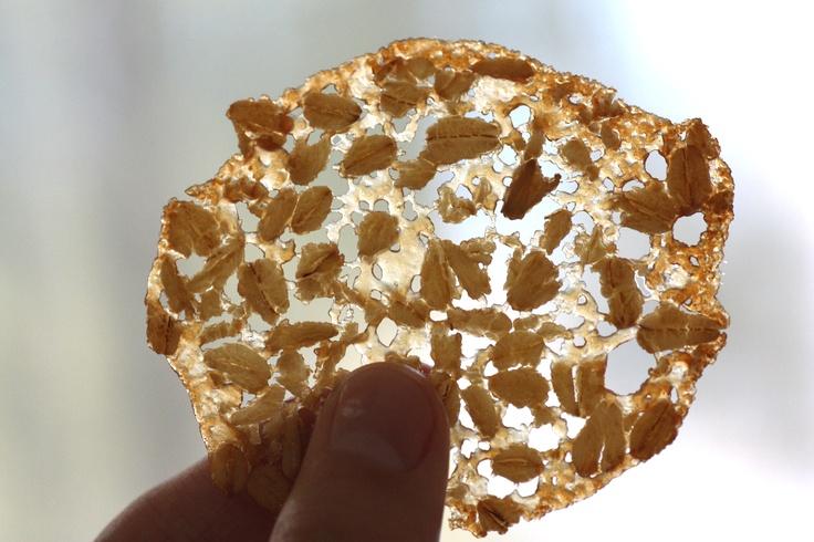 Irish oatmeal lace cookies | Recipe