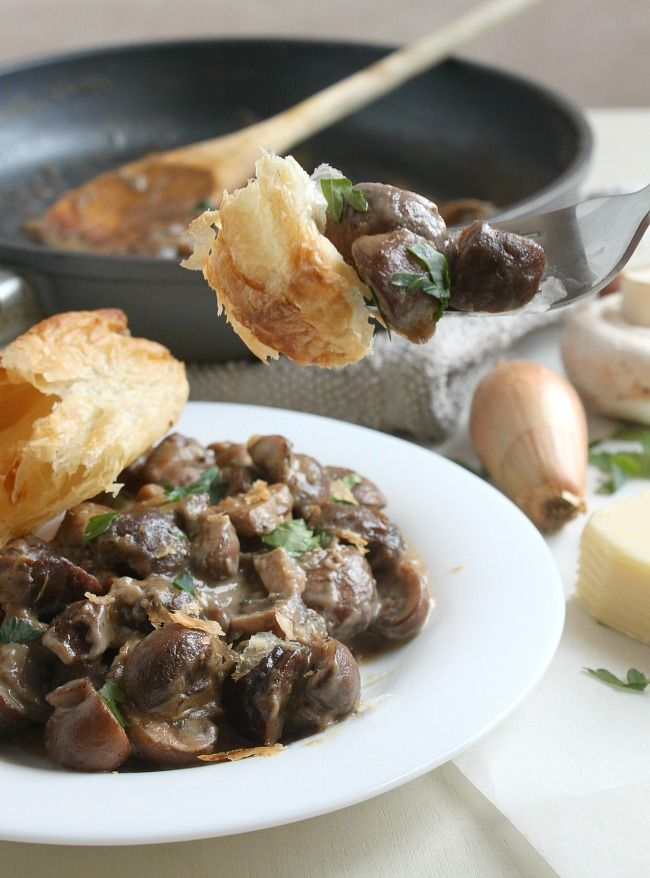 Mushroom and chestnut pie from Amuse Your Bouche. This would make a ...