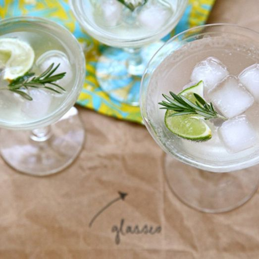 Rosemary Lime Cocktail | Cocktail Hour Group Board | Pinterest