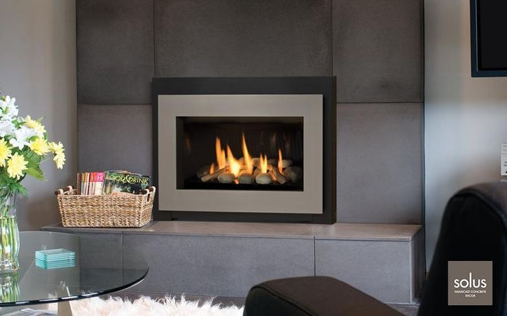 Modern Gas Fireplace Inserts For The Home Pinterest