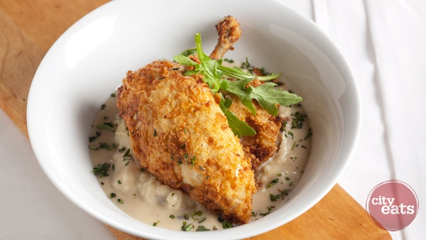 Southern Style Fried Chicken (Buttermilk and lemon marinated chicken ...