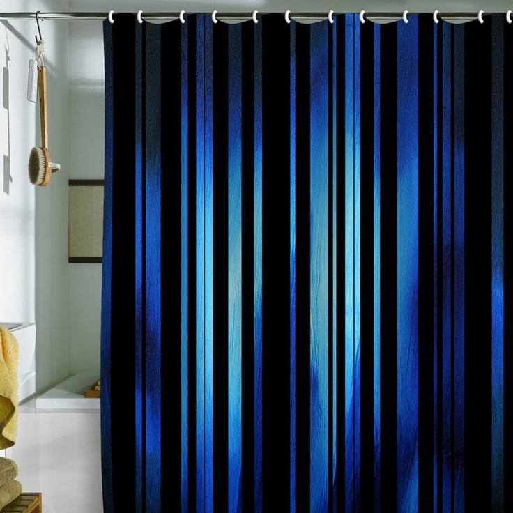 Black And Beige Shower Curtain Navy Blue Shower Curtain