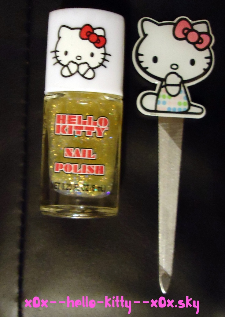Vernis & Lime A Ongle Hello Kitty