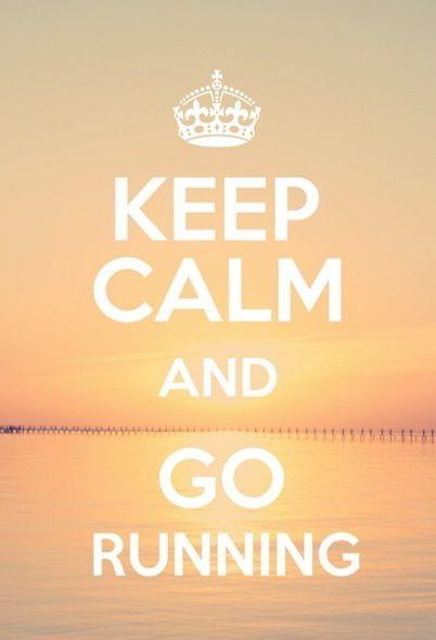 go running