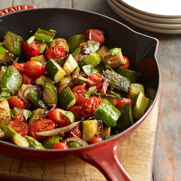 WW: Zucchini, Red Onion and Tomato Sauté | Wining and Dining | Pinter ...