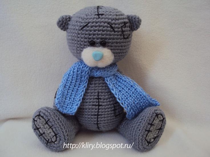 How To Crochet Amigurumi Teddy Bear : Amigurumi me2you bear Cro/K1 ~ Bears Pinterest