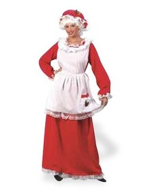 Mrs claus plus size adult womens costume why should santa get to have