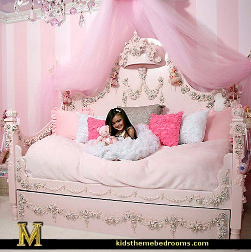 Asia in her princess bed asia grace grey pinterest for Princess style bedroom ideas