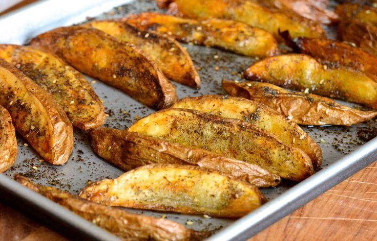 Za'atar Roasted Potato Wedges Recipe. And always on my mind.