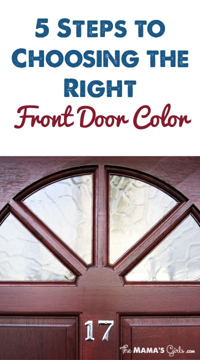 How To Pick Your Front Door Color Diy Crafts Home
