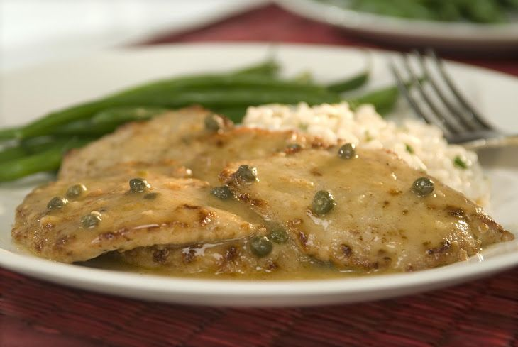 Veal Scaloppine With Lemon | What's for Dinner? | Pinterest