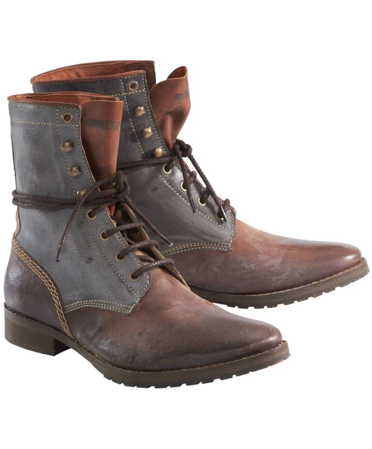 diesel s leather boots one day wardrobe
