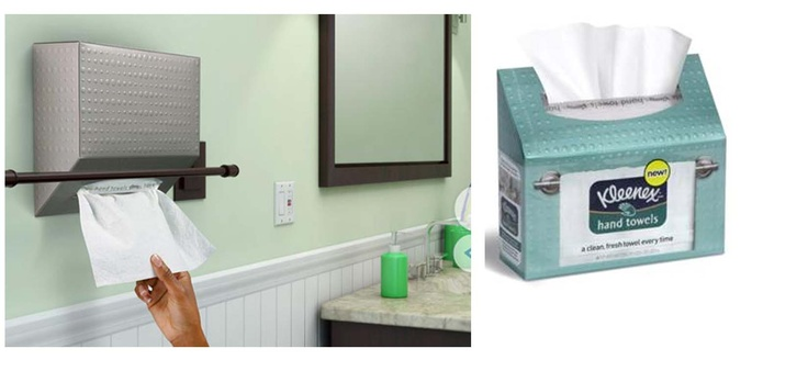 Towels are an innovative solution that delivers one clean fresh dry
