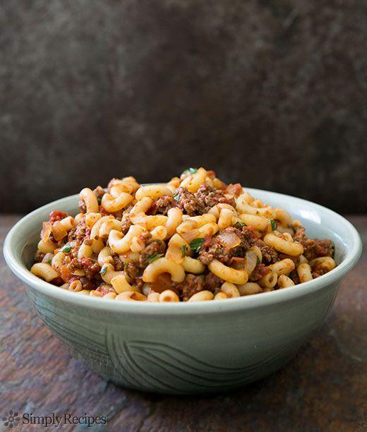 Hamburger and Macaroni Recipe   Simply Recipes