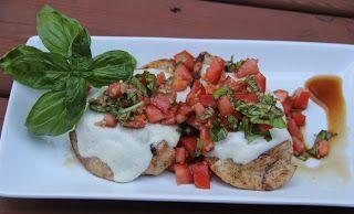 Grilled Balsamic Bruschetta Chicken | ~Chicken & Turkey~ | Pinterest