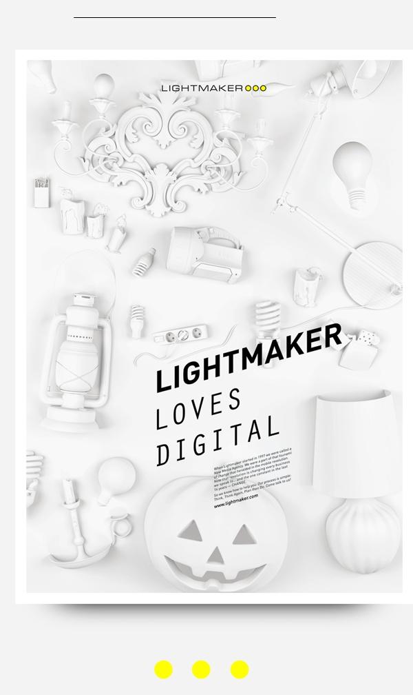 Lightmaker by Constantine Gavrykov, via Behance #poster #design