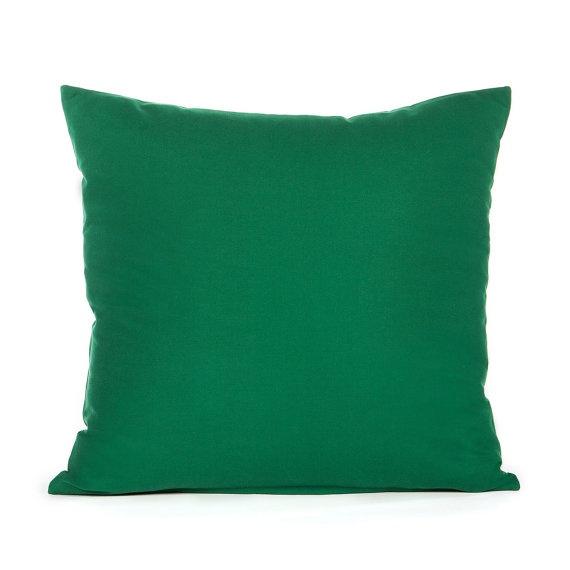 Green Throw Pillows Etsy : 20