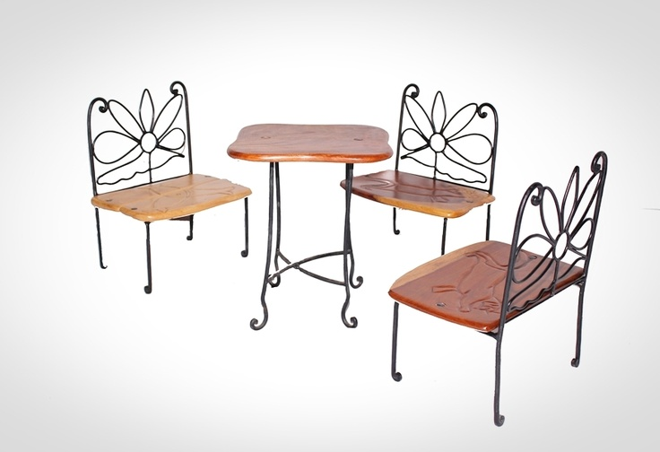 of chairs that you require and a table table size 26x 28x 36 chairs