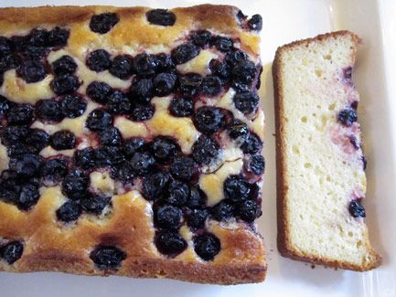 Lemon Yogurt Cake with Blueberries | Recipes I Want In My Repertoire ...