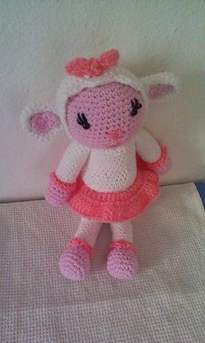 Lambie Amigurumi Patron Gratis : Lambie (English version) pattern by Jessica Yaman