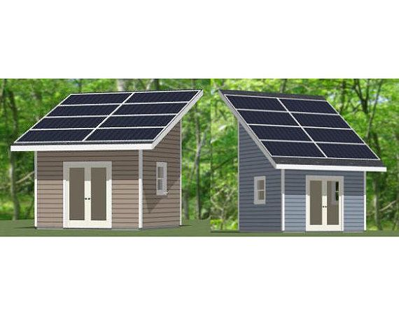 12x12 Sheds Solar Panels Pdf Floor Plans 144 Sq