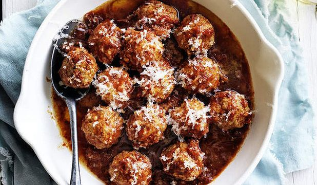 Chipotle meatballs from Neil Perry | things to bake or cook | Pintere ...